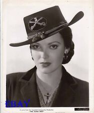 Linda Darnell sexy cowgirl VINTAGE Photo Two Flags West