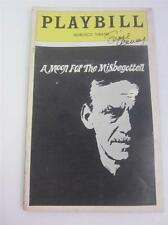Playbill Orig Broadway A Moon For The Misbegotten Lucie Arnaz Signed COA Lucille