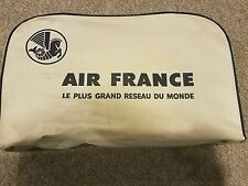 Vintage AIR FRANCE AIRLINE Travel Bag Suit Case (a294)