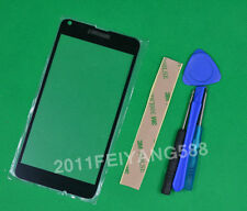 Black Front Outer Glass Lens Screen Replacement For Nokia lumia 640 N640 +Tools