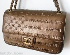 RARE CHANEL LIMITED Iconic CC Stars Stripes Flag Leather Letters Dallas Bag NEW