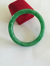Round Jade bangle bracelet size 60 MM