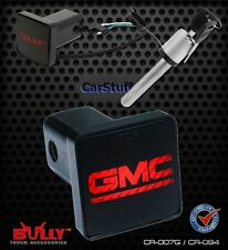 Bully Hitch Brake Light GMC Backlit Logo 2 inch receiver 4 prong wire & lock!