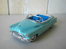 SOLIDO BUICK 1950 CABRIOLET EN METAL BLEU CIEL AU 1/43 MADE IN FRANCE
