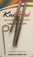 KnitPro Verbinder f. Seile austauschbare Nadelspitzen Seilverbinder Verlängerung