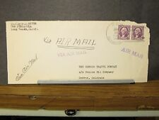 USS PENSACOLA CA-24 Naval Cover 1937 SAILOR's MAIL
