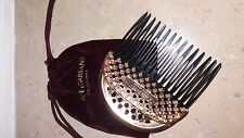 dolce & gabbana hair comb new with bag