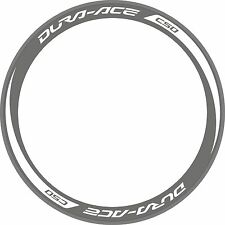 DURA ACE C50 Deep Rim Wheel Decals Stickers Bike Replacement Kit FOR 700C 2 RIMS