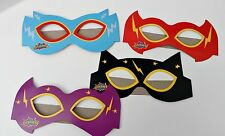 12pc MASKS SUPERHERO kids paper Party birthday bag toy costume fancy dress