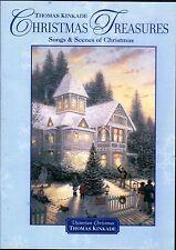 Thomas Kinkade CHRISTMAS TREASURES SONGS & SCENES OF CHRISTMAS HOLIDAY PORTRAITS