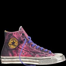 "CONVERSE CT 70 HI ""ANDY WARHOL FUCHSIA PURPLE"" SIZE 8 MEN or 10 WOMEN..RARE!"
