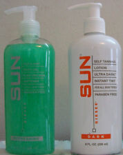 Sun Labs Ultra Dark or Very Dark Tanning Lotion or Spray and Exfoliant