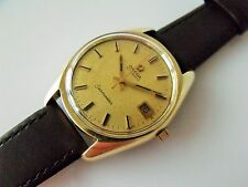 GENT'S VINTAGE LARGE SIZE GOLD CAPPED CAL.565 OMEGA SEAMASTER AUTOMATIC