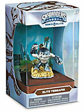 EON'S ELITE TERRAFIN Skylanders Trap Team NEW SEALED Metallic Silver exclusive