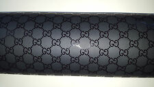 LAST ROLL...GUCCI Black Wrapping Paper GG Logo ~ ...Authentic