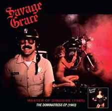 SAVAGE GRACE - Master Of Disguise & The Dominatress CD Remastered +4 US Metal