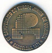 1971 EUROPEAN VOLLEYBALL Junior CHAMPIONSHIPS participant MEDAL Barcelona