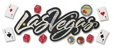Jolee's LAS VEGAS Stickers NEVADA POKER CHIPS CARDS SLOT MACHINE GAMBLING GAMBLE