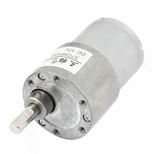 DC12V 38RPM High Torque DC Gear Box Reducer Variable Speed Motor