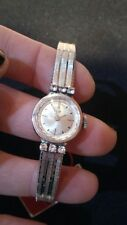 ORIGINAL VINTAGE  LIP WATCH-BRACELET 4 LADIES WITH TAG! OLD STOCK W/TAG