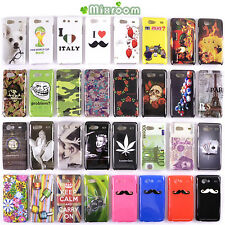 COVER CUSTODIA BACK CASE RIGIDA PER SAMSUNG GALAXY S ADVANCE i9070 VARI MODELLI