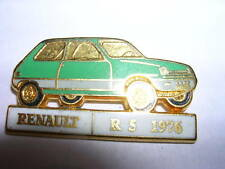 PIN'S  VOITURES  RENAULT /  SUPERBE  R5 1976 /  EMAILLEE