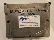 FORD BA FALCON XR6 XT LPG 4 SPEED AUTO ECU COMPUTER 3R23-12A650-ACD A3CD