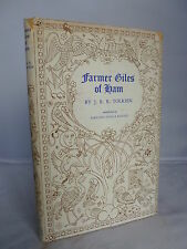 Farmer Giles of Ham by J R R Tolkien HB DJ 1972 Illustrated Pauline Baynes
