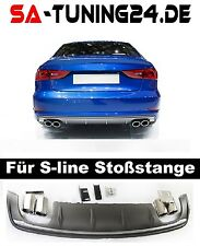 wabengrill rs3 Audi A3 8V S-Line S3 grill Look Diffusor Stoßstange Limousine #13