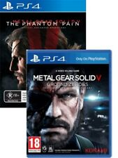 Metal Gear Solid 5 V Ground Zeroes & The Phantom Pain PS4 New
