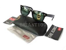 new Unisex Sunglasses Ray-Ban RB2140 901 Wayfarer 50mm Black/Green
