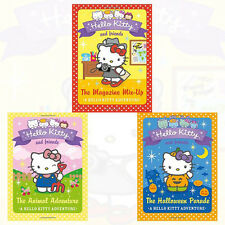 Linda Chapman Collection Hello Kitty and Friends Series 3 Book Set NEW Paperback