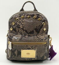 JUICY COUTURE Snake Embossed leather Mini Backpack NWT WHB314 $348