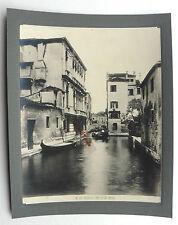 PHOTO VENEZIA VENISE ITALIE RIO DI S. BOLDO SU35