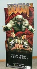 Doom 3 EB Games Standee 5 Foot VERY RARE
