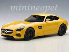 AUTOart 76314 MERCEDES BENZ AMG GT S 1/18 MODEL CAR YELLOW