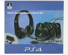 4Gamers official Stereo Gaming Headset Starter Kit PS4 Playstation 4 SLEH-00269
