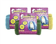 "Multipet Happy Hut for Birds-Small 5"" Asst Colors Free Shipping New With Tag"