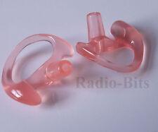 Gel Ear Mould Ear Insert TWIN Pack Large LEFT MTH800 Sepura Motorola Universal