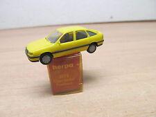 ENS47995 Herpa 1:87 Opel Vectra gelb , sehr guter Zustand , mit OVP