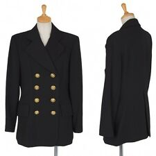 MOSCHINO cheap&chic gold button double jacket Size About M(K-21261)