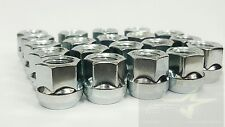 "16 OPEN END CHROME BULGE ACORN LUG NUTS | 12x1.5 | 3/4"" HEX 