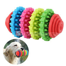 Pets Dogs Puppy Tough Dental Teething Gums Teeth Clean Rubber Chew Toys Colorful