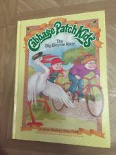 Cabbage Patch Kids Vintage Book The Big Bicycle Race 1984 Hardcover Retro Rare