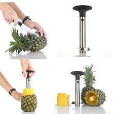 Stainless Steel Easy Kitchen Tool Fruit Pineapple Corer Slicer Cutter Peeler WS