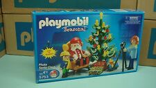 Playmobil 5753 Christmas time Santa Picture Diorama mint in Box for collectors