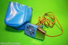 VINTAGE HAIR DRYER RETRO TRAVEL WITH VINYL BAG MIGHTY SETTER WORKING GREAT !!!!