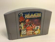 Jeu Nintendo 64 /MACE THE DARK AGE/ Cartouche seule testée /tested cartridge