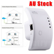 OZ F Wireless AP Wifi Extender Booster 802.11n 300Mbps Range Router Repeater