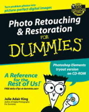 Photo Retouching & Restoration for Dummies-ExLibrary